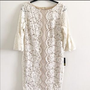 NWT Lace Dress | Quarter Sleeve | Wedding Dress